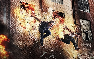 שכונות הפשע brick mansions - paul walker