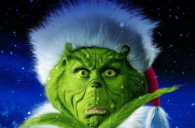 הגרינץ' How the Grinch Stole Christmas  - תמונה על קנבס,מוכנה לתליה.הגרינץ' How the Grinch Stole Christmas