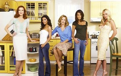 עקרות בית נואשות desperate housewives - תמונה על קנבס,מוכנה לתליה.עקרות בית נואשות desperate housewives