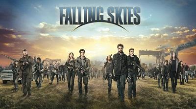 השמיים נופלים falling skies - תמונה על קנבס,מוכנה לתליה.השמיים נופלים falling skies