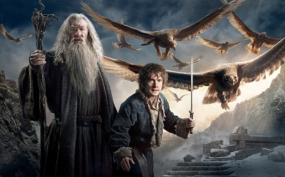 הוביט hobbit gandalf bilbo baggins - תמונה על קנבס,מוכנה לתליה.הוביט hobbit gandalf bilbo baggins