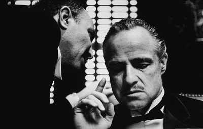 The Godfather Marlon Brando - תמונה על קנבס,מוכנה לתליה.The Godfather Marlon Brando