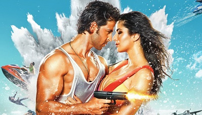 Bang Bang Hrithik And Katrina- תמונה על קנבס,מוכנה לתליה.  Bang Bang Hrithik And Katrina