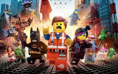 לגו: הסרט The Lego Movie - תמונה על קנבס,מוכנה לתליה.לגו: הסרט The Lego Movie
