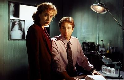 תיקים באפלה  The X-Files- תמונה על קנבס,מוכנה לתליה.תיקים באפלה  The X-Files