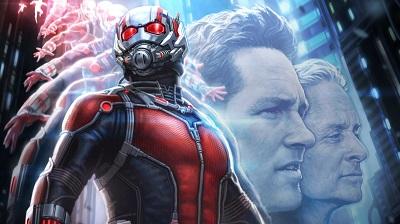 איש הנמלה Ant-Man - תמונה על קנבס,מוכנה לתליה.איש הנמלה Ant-Man