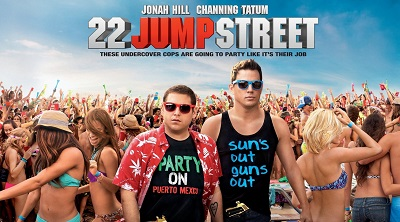 רחוב ג'אמפ 22  Jump Street  - תמונה על קנבס,מוכנה לתליה.רחוב ג'אמפ 22  Jump Street