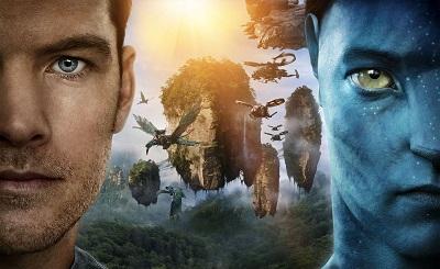 אווטאר סם וורת'ינגטון  Sam Worthington  Avatar    - תמונה על קנבס,מוכנה לתליה.אווטאר סם וורת'ינגטון  Sam Worthington  Avatar