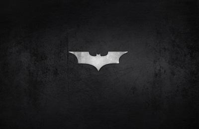 Batman Logo - תמונה על קנבס,מוכנה לתליה.Batman Logo