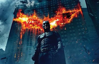Batman The dark knight - תמונה על קנבס,מוכנה לתליה.  Batman The dark knight