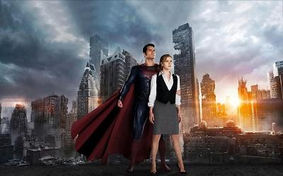 סופרמן Superman - Man of Steel - תמונה על קנבס,מוכנה לתליה.סופרמן Superman - Man of Steel
