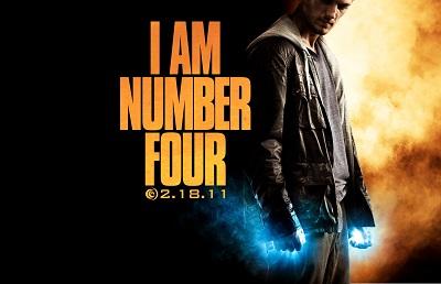 אני מספר ארבע  I Am  - תמונה על קנבס,מוכנה לתליה.Number Four אני מספר ארבע  I Am Number Four