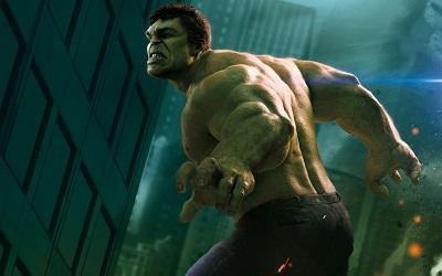 הענק הירוק Hulk - תמונה על קנבס,מוכנה לתליה. הענק הירוק Hulk