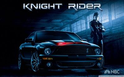 Knight Rider - תמונה על קנבס,מוכנה לתליה.Knight Rider