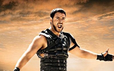גלדיאטור ראסל קרואו gladiator russell crowe  - תמונה על קנבס,מוכנה לתליה.גלדיאטור ראסל קרואו gladiator russell crowe maximus