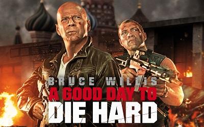 מת לחיות ברוס וויליס  good way to die hard  - תמונה על קנבס,מוכנה לתליה.מת לחיות ברוס וויליס  good way to die hard