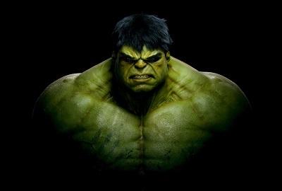 hulk    - תמונה על קנבס,מוכנה לתליה.  hulk  אנימציה