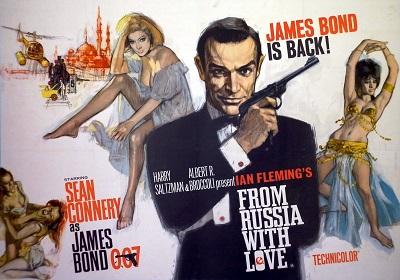 גיימס בונד james bond   - תמונה על קנבס,מוכנה לתליה.גיימס בונד james bond
