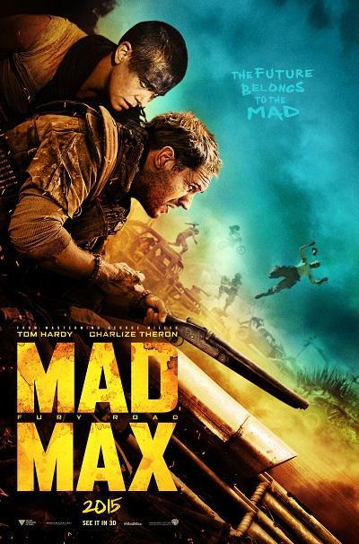 Mad Max  - תמונה על קנבס,מוכנה לתליה.Mad Max