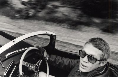 סטיב מקווין  Steve McQueen - תמונה על קנבס,מוכנה לתליה.סרטים ישנים סטיב מקווין  Steve McQueen