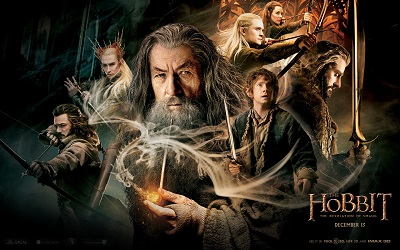הוביט the hobbit   - תמונה על קנבס,מוכנה לתליה. the battle o the five armies the_hobbit_the_desolation_of_smaug_legolas_bilbo_gandalf
