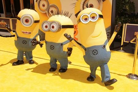 המיניונים   The original minions - תמונה על קנבס,מוכנה לתליה.המיניונים  The original minions אנימציה