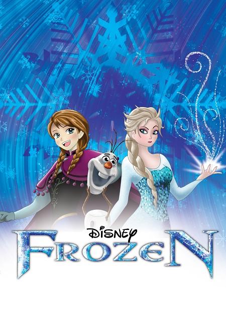 frozen elsa and anna  אנימציה