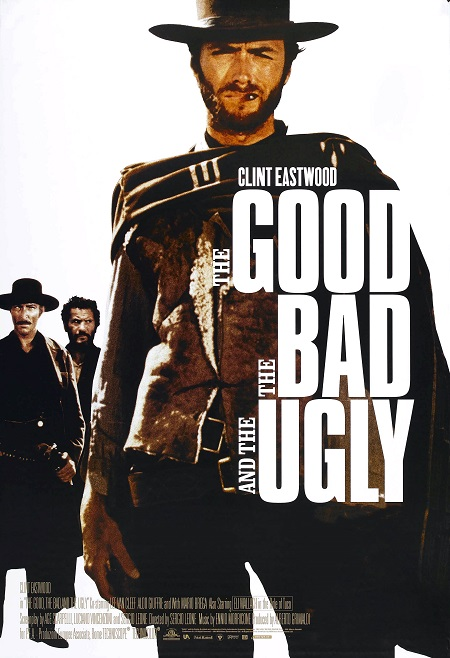הטוב הרע והמכוער The Good the Bad the Ugly - תמונה על קנבס,מוכנה לתליה.סרטים ישנים קלינט אסטווד -  הטוב הרע והמכוער The Good the Bad the Ugly