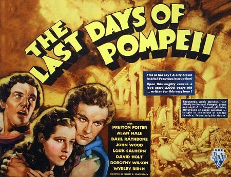 ימי פומפי האחרונים - Last Days of Pompeii- תמונה על קנבס,מוכנה לתליה.סרטים ישנים  ימי פומפי האחרונים - Last Days of Pompeii- תמונה על קנבס,מוכנה לתליה.