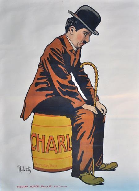 צארלי צפלין - תמונה על קנבס,מוכנה לתליה.צארלי צפלין    צרלי צפלין