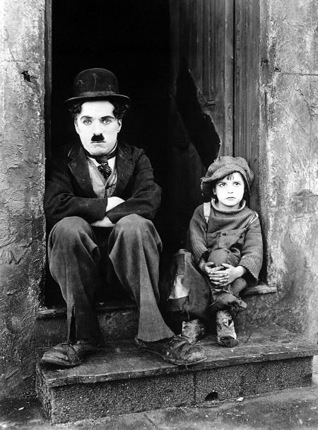 צארלי צפלין  -  Chaplin The Kid - תמונה על קנבס,מוכנה לתליה.סרטים ישנים  צארלי צפלין  -  צרלי צפלין  -     Chaplin The Kid