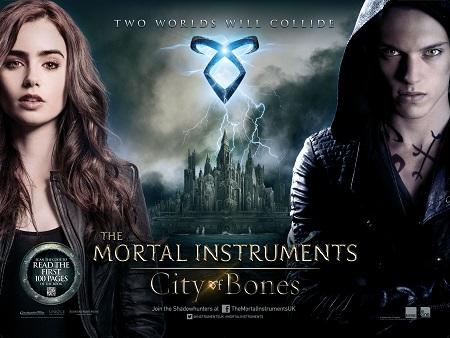 בני הנפילים: עיר של עצמות -  The Mortal Instruments: City of Bones - תמונה על קנבס,מוכנה לתליה.בני הנפילים: עיר של עצמות -  The Mortal Instruments: City of Bones - תמונה על קנבס,מוכנה לתליה.