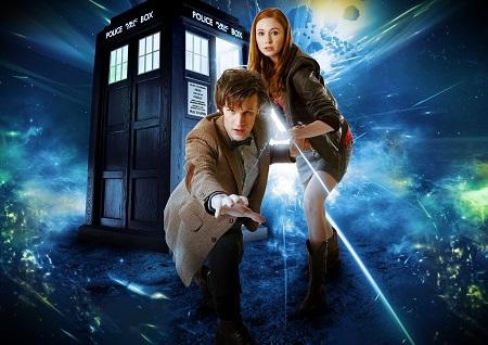 דוקטור הו  - DOCTOR WHO - תמונה על קנבס,מוכנה לתליה.