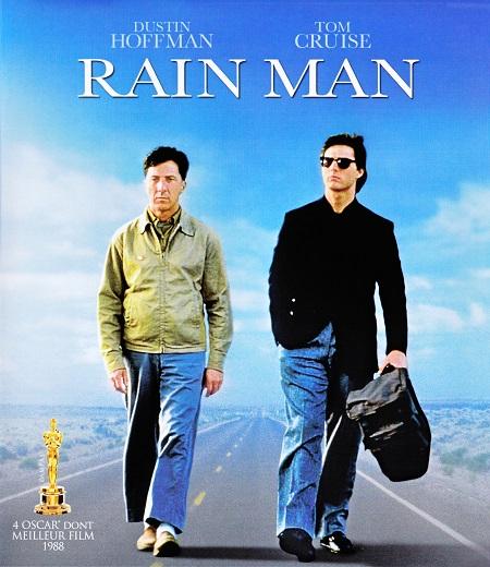 איש הגשם - טום קרוז  - דסטין הופמן  - Rain Man  - תמונה על קנבס,מוכנה לתליה.איש הגשם - טום קרוז  - דסטין הופמן  - Rain Man  - תמונה על קנבס,מוכנה לתליה.