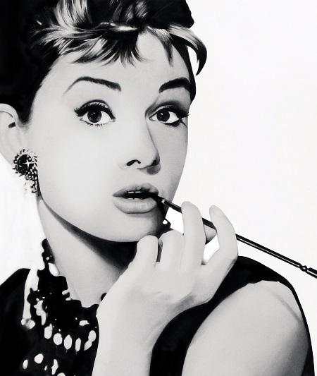 אודרי הפבורן -  Audrey-Hepburn - תמונה על קנבס,מוכנה לתליה.סרטים ישנים אודרי הפבורן -  Audrey-Hepburn - תמונה על קנבס,מוכנה לתליה.