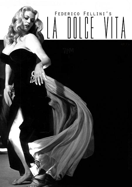 לה דולצ'ה ויטה   -  פדריקו פליני  -   La dolce vita - תמונה על קנבס,מוכנה לתליה.סרטים ישנים  לה דולצ'ה ויטה   -  פדריקו פליני  -   La dolce vita - תמונה על קנבס,מוכנה לתליה.