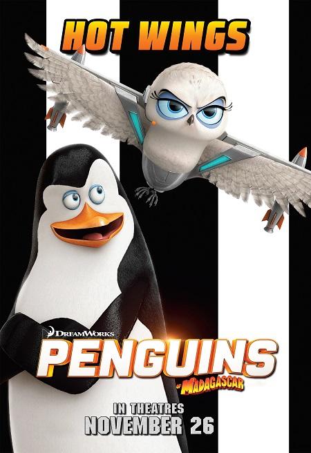 הפינגווינים ממדגסקר -   penguins-madagascar - תמונה על קנבס,מוכנה לתליה.הפינגווינים ממדגסקר -   penguins-madagascar -אנימציה תמונה על קנבס,מוכנה לתליה.