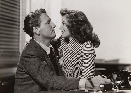 Katharine Hepburn - Woman of the Year - spencer tracy - תמונה על קנבס,מוכנה לתליה.Katharine Hepburn - Woman of the Year - spencer tracy - תמונה על קנבס,מוכנה לתליה.