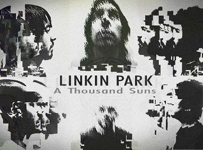 לינקין פארק Linkin Park, A Thousand Suns - תמונה על קנבס,מוכנה לתליה.לינקין פארק Linkin Park, A Thousand Suns