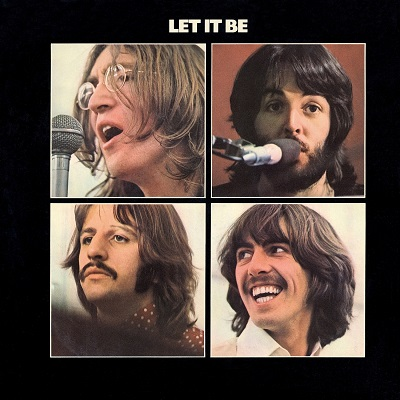 החיפושיות  Let It Be - The Beatles - תמונה על קנבס,מוכנה לתליה.החיפושיות  Let It Be - The Beatles