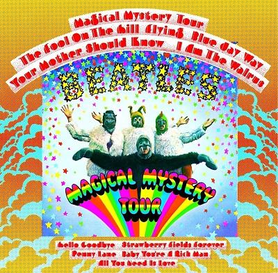 The Beatles - Magical Mystery Tour - תמונה על קנבס,מוכנה לתליה.The Beatles - Magical Mystery Tour