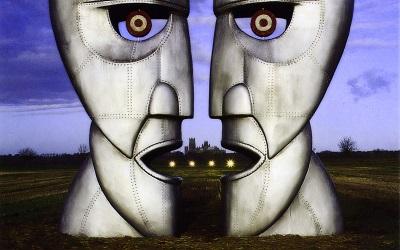 Pink Floyd - תמונה על קנבס,מוכנה לתליה.Pink Floyd