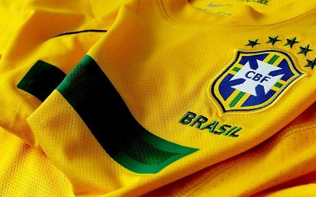 ברזיל חולצה סמל - תמונה על קנבס,מוכנה לתליה.ברזיל חולצה סמל