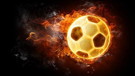 כדור האש - תמונה על קנבס,מוכנה לתליה.כדור האש