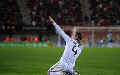 סרחיו ראמוס  Sergio Ramos Real Madrid    -  תמונה על קנבס,מוכנה לתליה.סרחיו ראמוס  Sergio Ramos Real Madrid