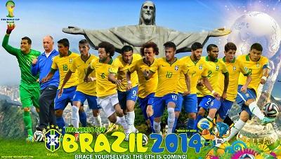 ברזיל  Brazil    - תמונה על קנבס,מוכנה לתליה.ברזיל  Brazil