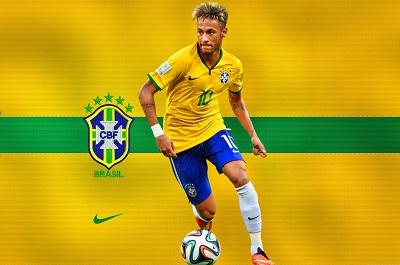 ניימאר neymar    -  תמונה על קנבס,מוכנה לתליה.ניימאר neymar
